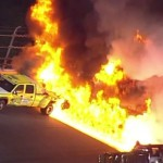 Massive Fire Wins Daytona 500; Kenseth Takes Checkered Flag