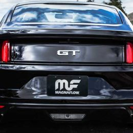 Magnaflow Exhaust on a 2015 Ford Mustang