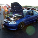 Blue Bullet Si: Mike Gbur's 2000 Honda Civic Si