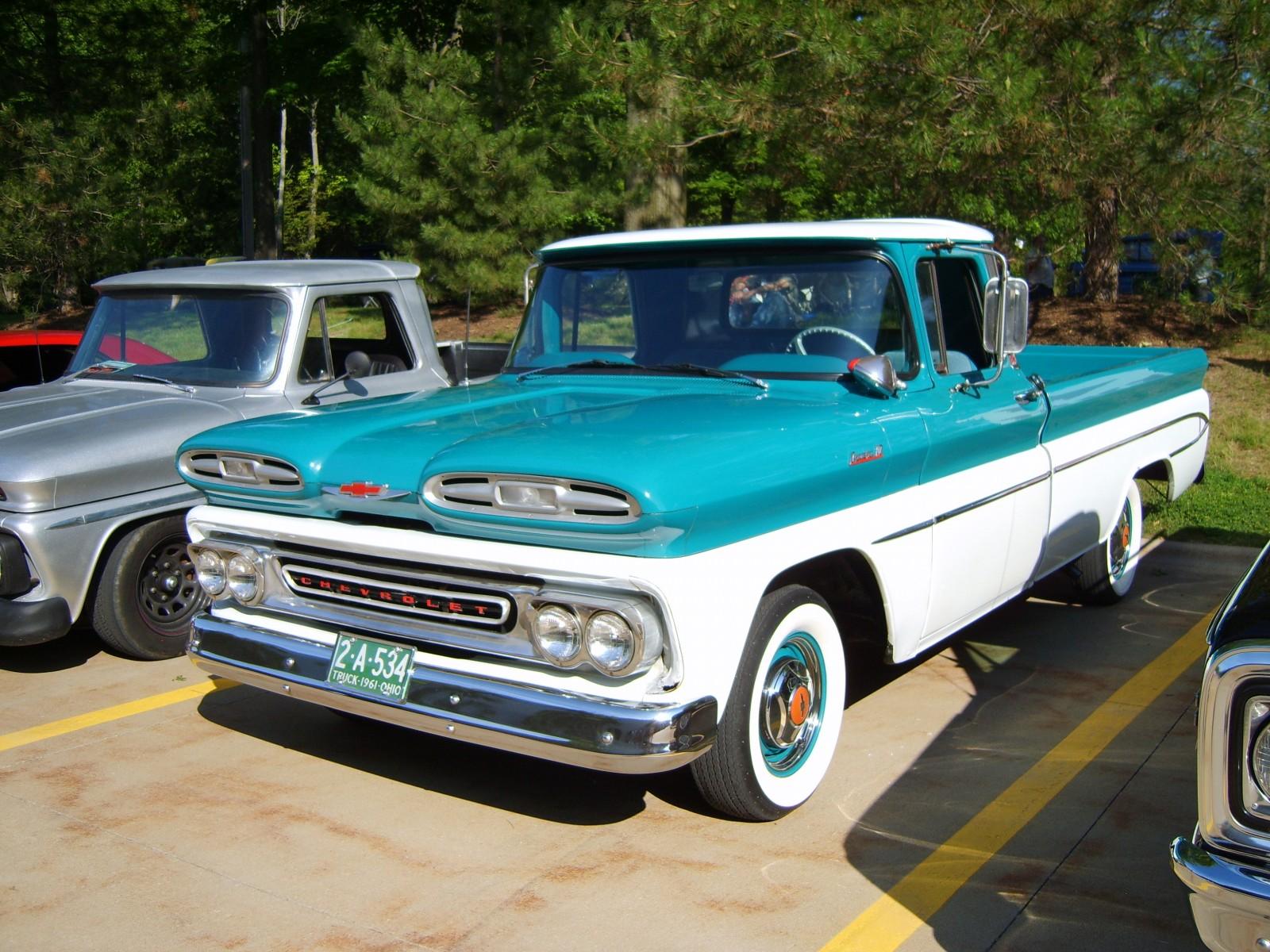 Super Summit Truck Stop Gallery Of Trucks Onallcylinders 1961 Chevy Pickup