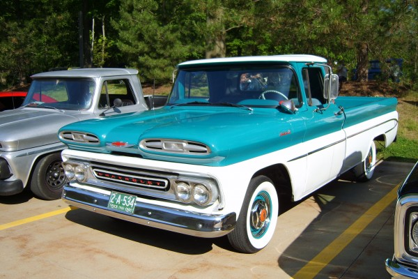 1961 Chevy pickup truck