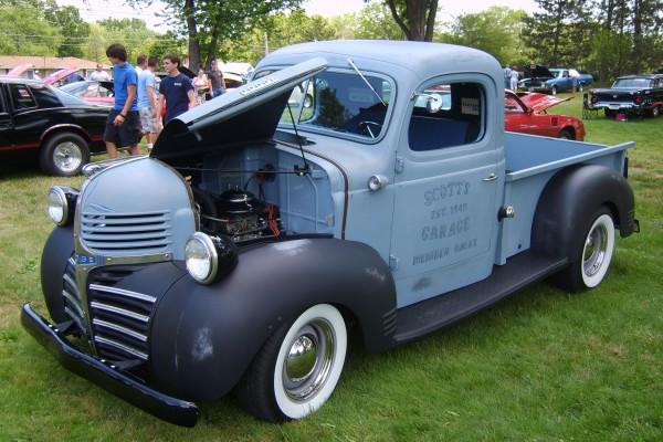 Classic Dodge pickup truck