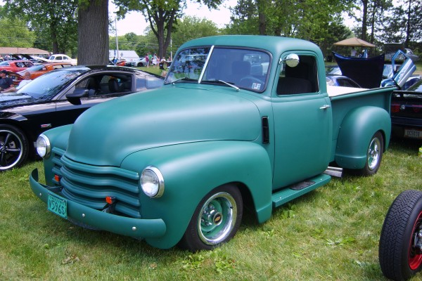 Vintage Chevy pickup truck