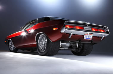 Slide on 1970 Dodge Challenger Pro Street