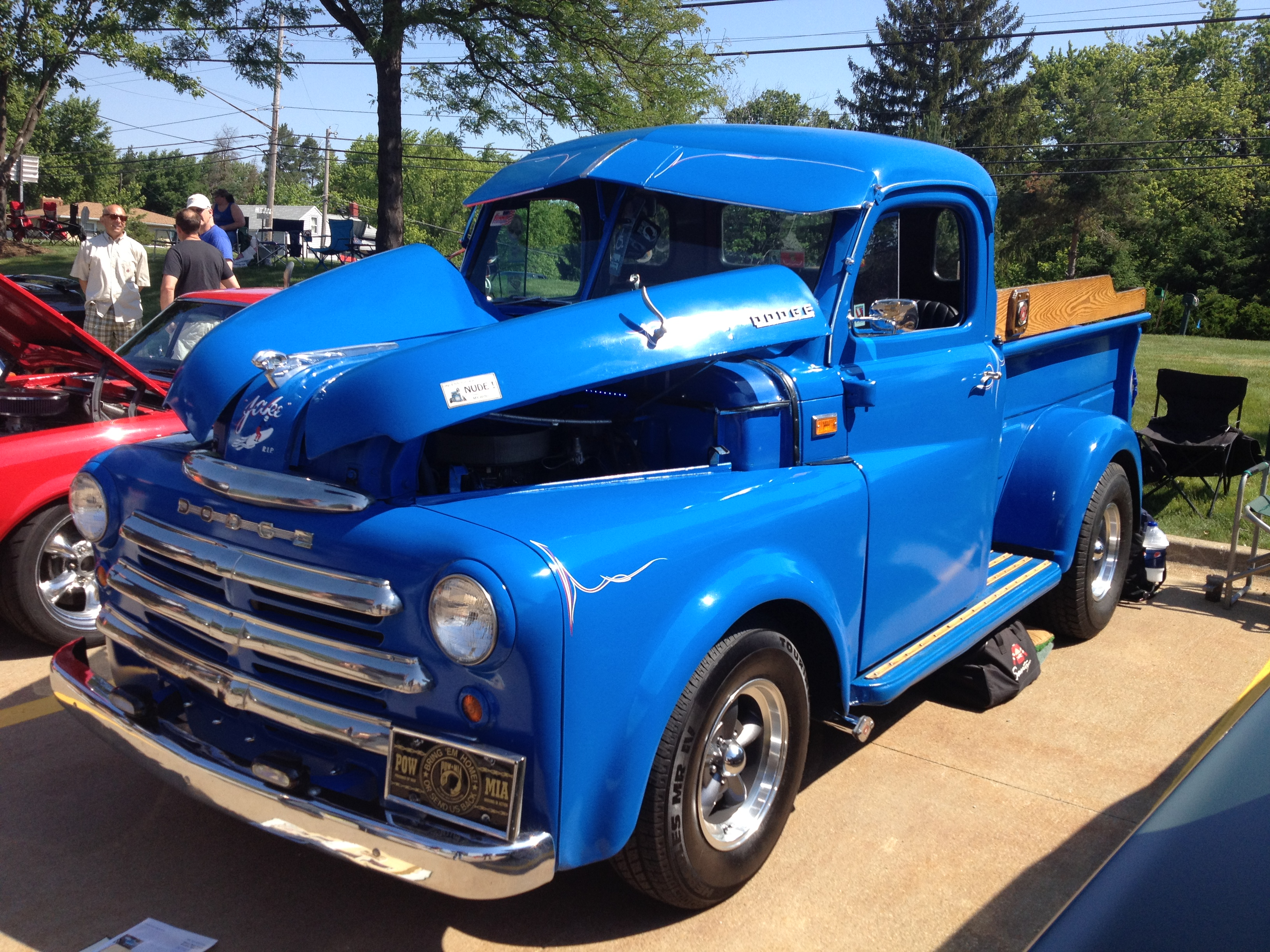 When Don Met Vito A Super Summit Story Featuring A 1950 Dodge Truck