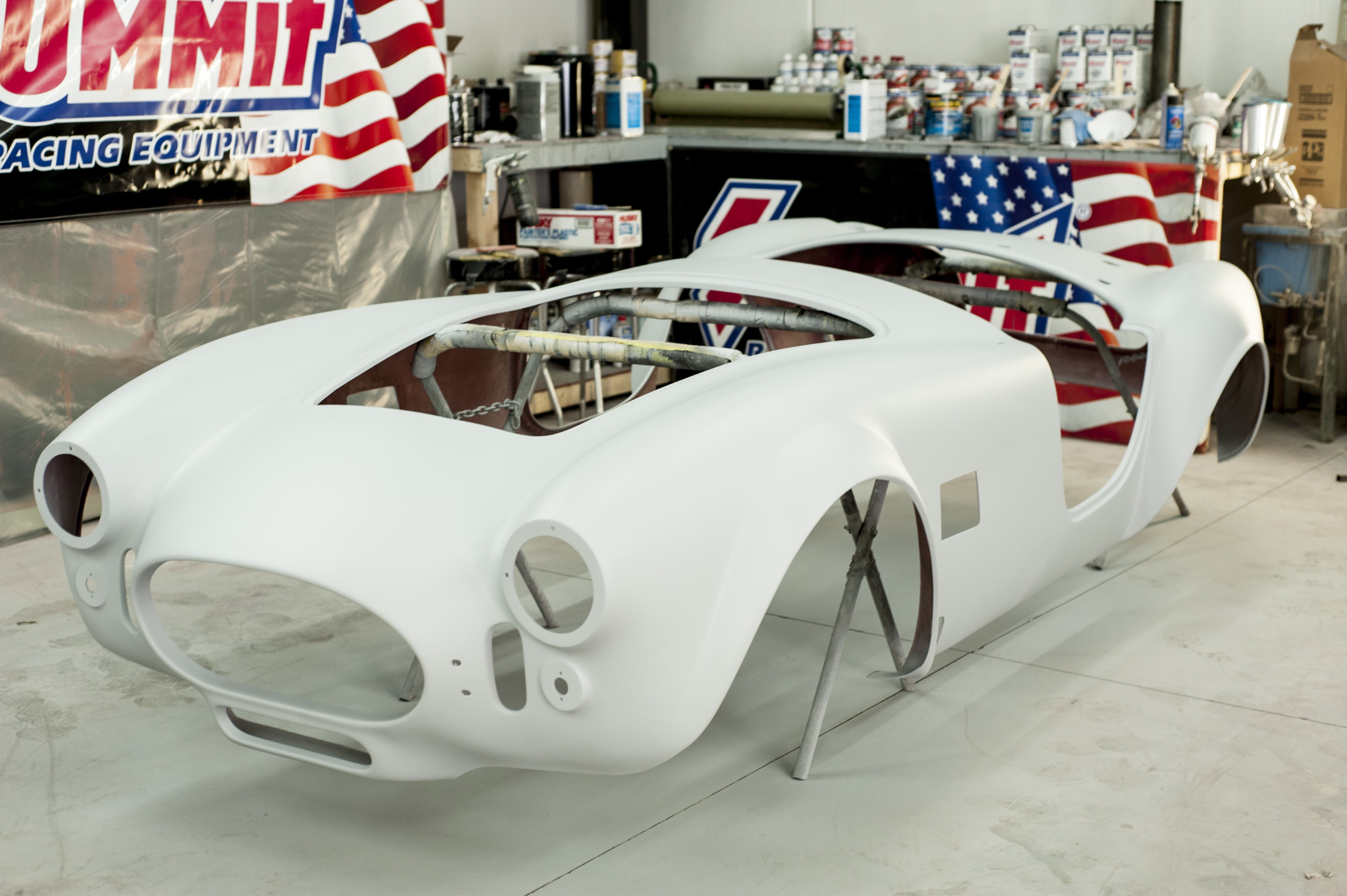 Summit Racing/Factory Five Mk4 Spy Photos - OnAllCylinders