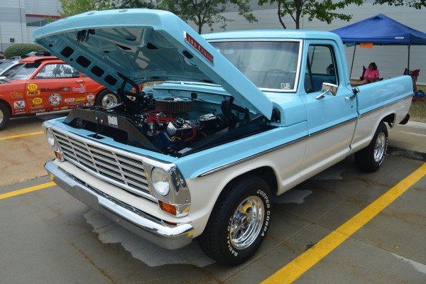 Classic Ford truck