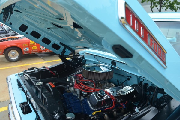 Classic Ford truck engine