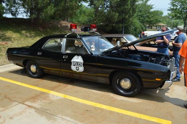 Vintage Barberton police car
