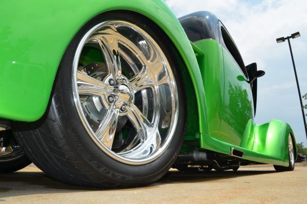 Hot rod wheel