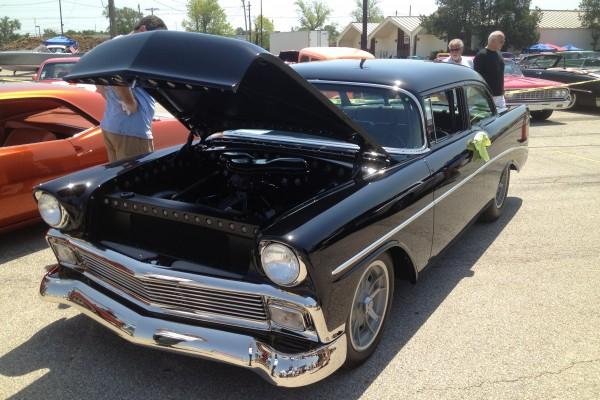 Black 1955 Chevy