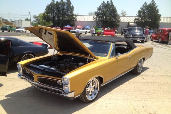 Gold 1966 Pontiac GTO