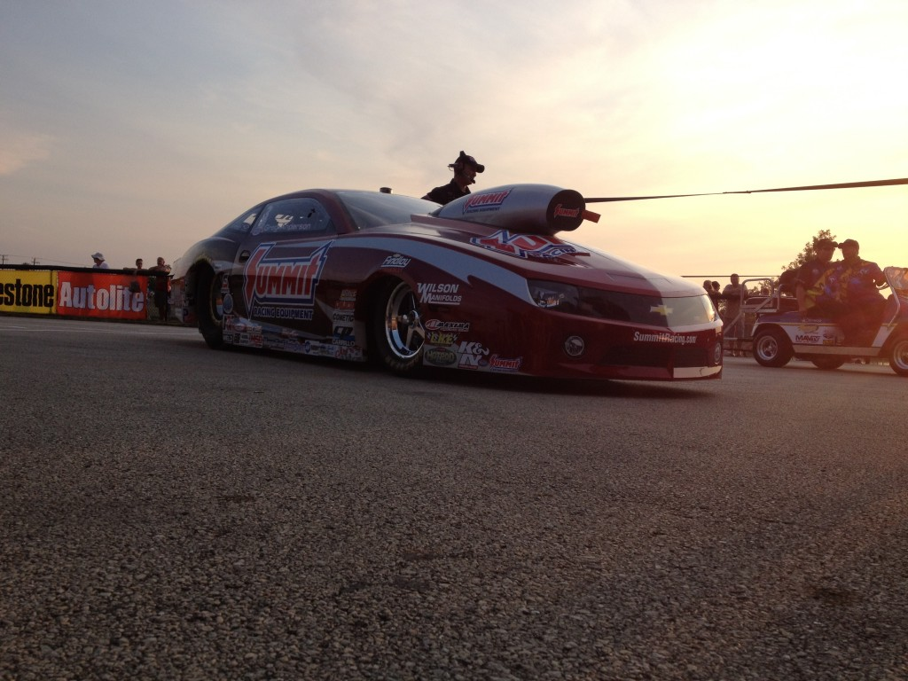 "Line, Anderson ""All In"" with New Pro Stock Camaros"
