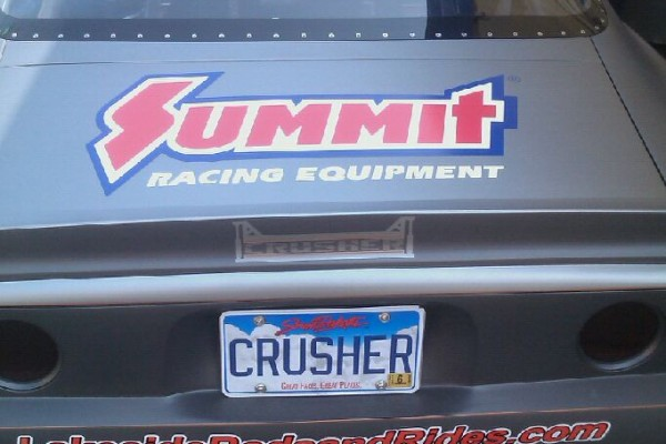Gray Summit Racing Camaro