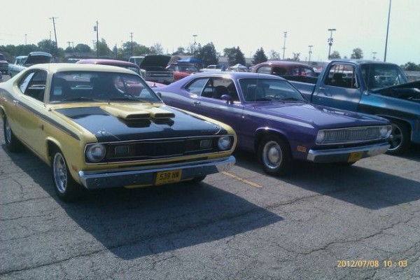 Yellow Mopar