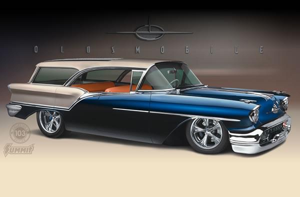 1957 Oldsmobile Fiesta Wagon 1