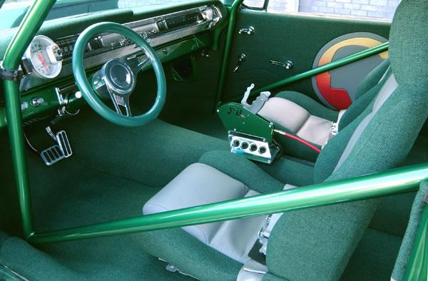 Emerald Arrowhead Ron Kintz 1962 Pontiac Grand Prix