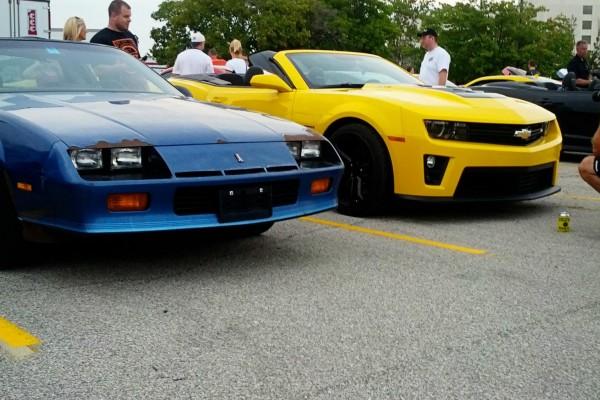 Camaro5 Fest, Yellow Convertible