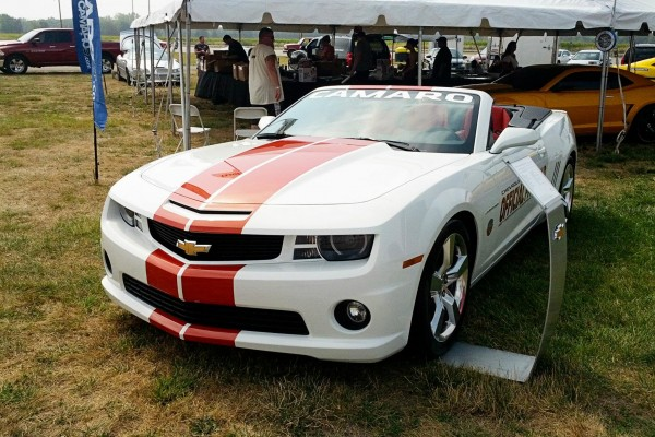 Camaro5 Fest, White Convertible