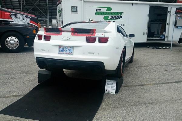 Camaro5 Fest, White Camaro Rear Shot
