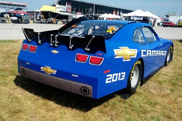 Camaro5 Fest, Blue Camaro