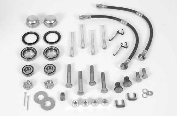 Summit Racing Disc Brake Conversion Kit, Complete Brake Kit