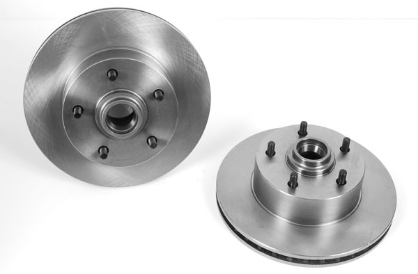 Summit Racing Disc Brake Conversion Kit, Brake Rotors