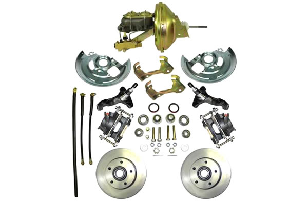 Summit Racing Drum-to-Disc Brake Conversion Kit