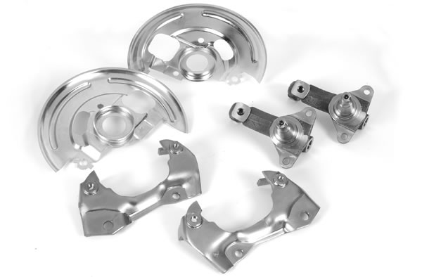 Summit Racing Disc Brake Conversion Kit, Brake Spindles