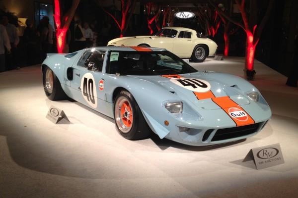 Steve McQueen's 1968 GT40