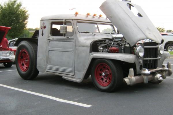 Rat rod semi truck