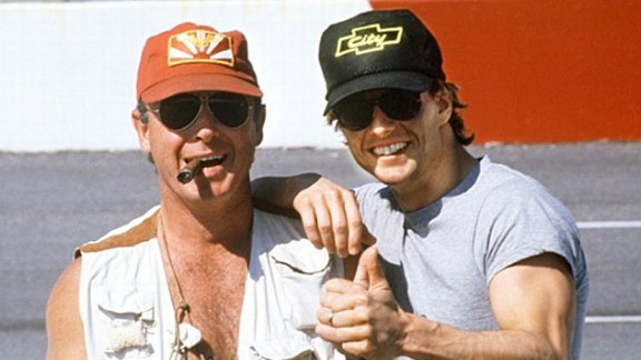 Tony Scott and Tom Cruise`