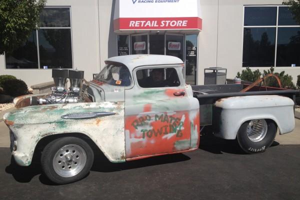 Blown classic truck