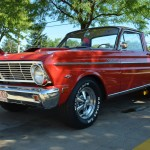1965 Ford Falcon Ranchero, front 3_4