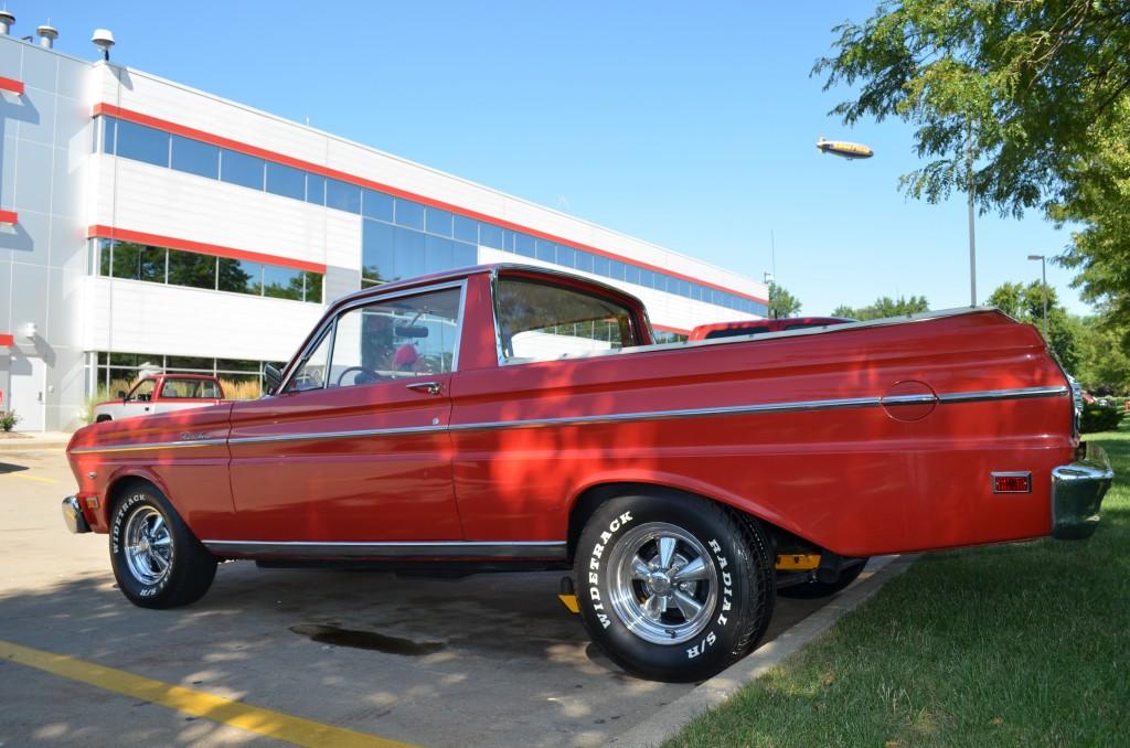 1965 Ford Falcon Ranchero, side view