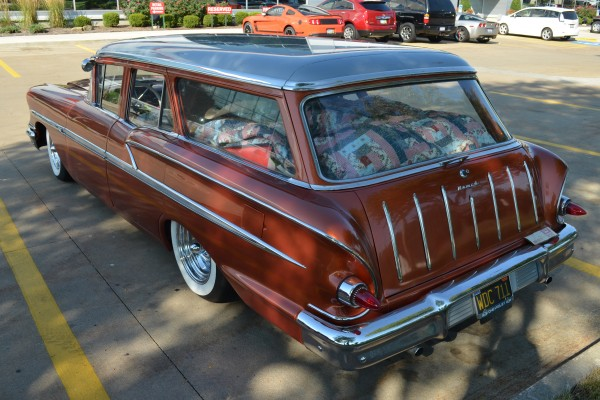 1958 Chevy Nomad, high angle