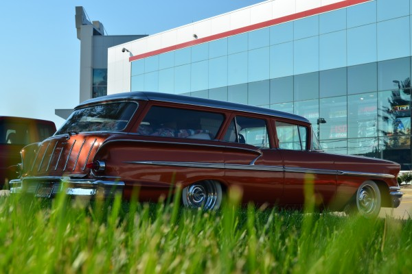 1958 Chevy Nomad, side view
