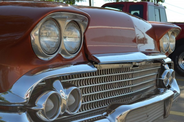 1958 Chevy Nomad, front grille