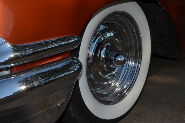 1958 Chevy Nomad, wheel