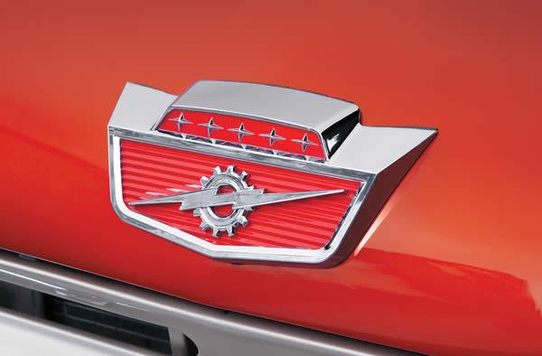 1964 F-100, badge