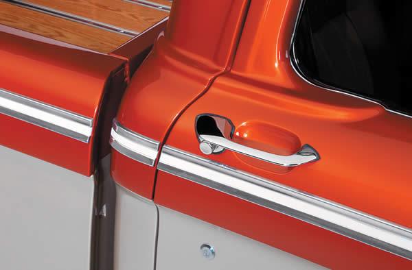 1964 F100, side closeup