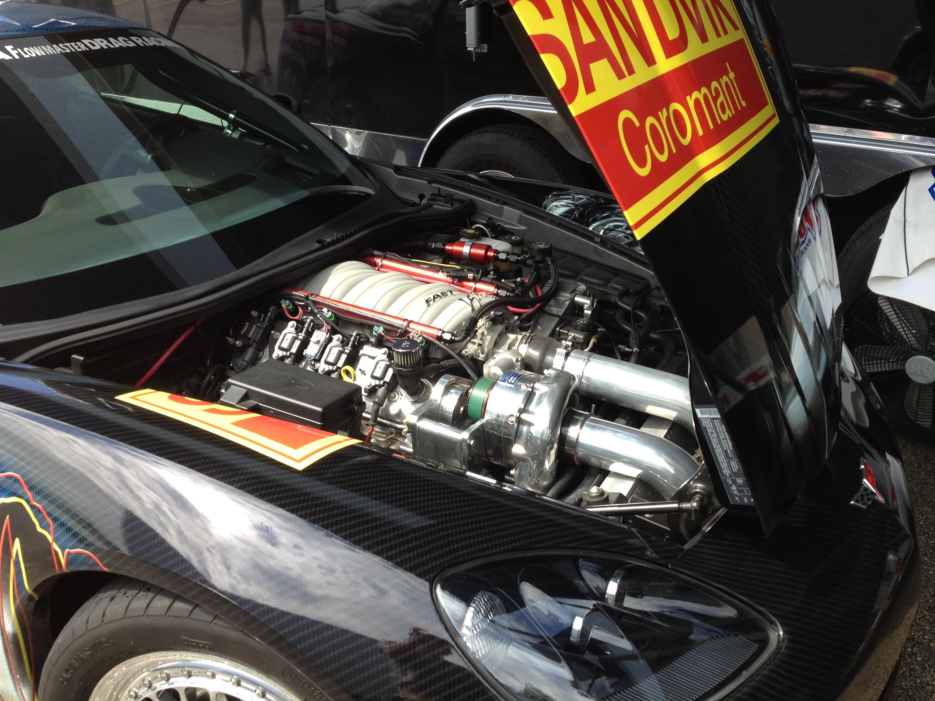 Holley LS Fest Chevy Corvette engine