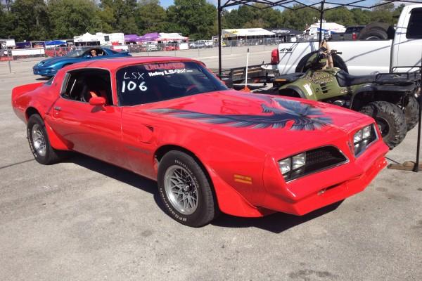Red Pontiac Trans Am