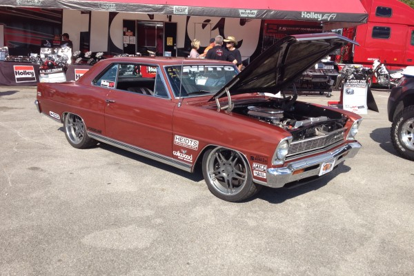 Chevy II with LS engine