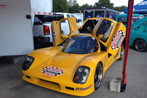 Yellow Ultima GTR