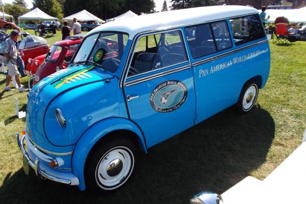 Blue Lloyd Pan-Am van