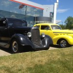 1934 Ford & 1940 Chevy
