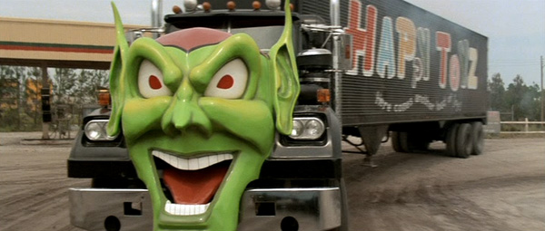 White-Western Star 4800 truck from Maximum Overdrive