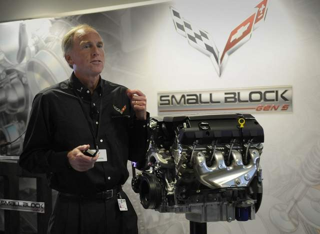 New Chevy small block engine LT1