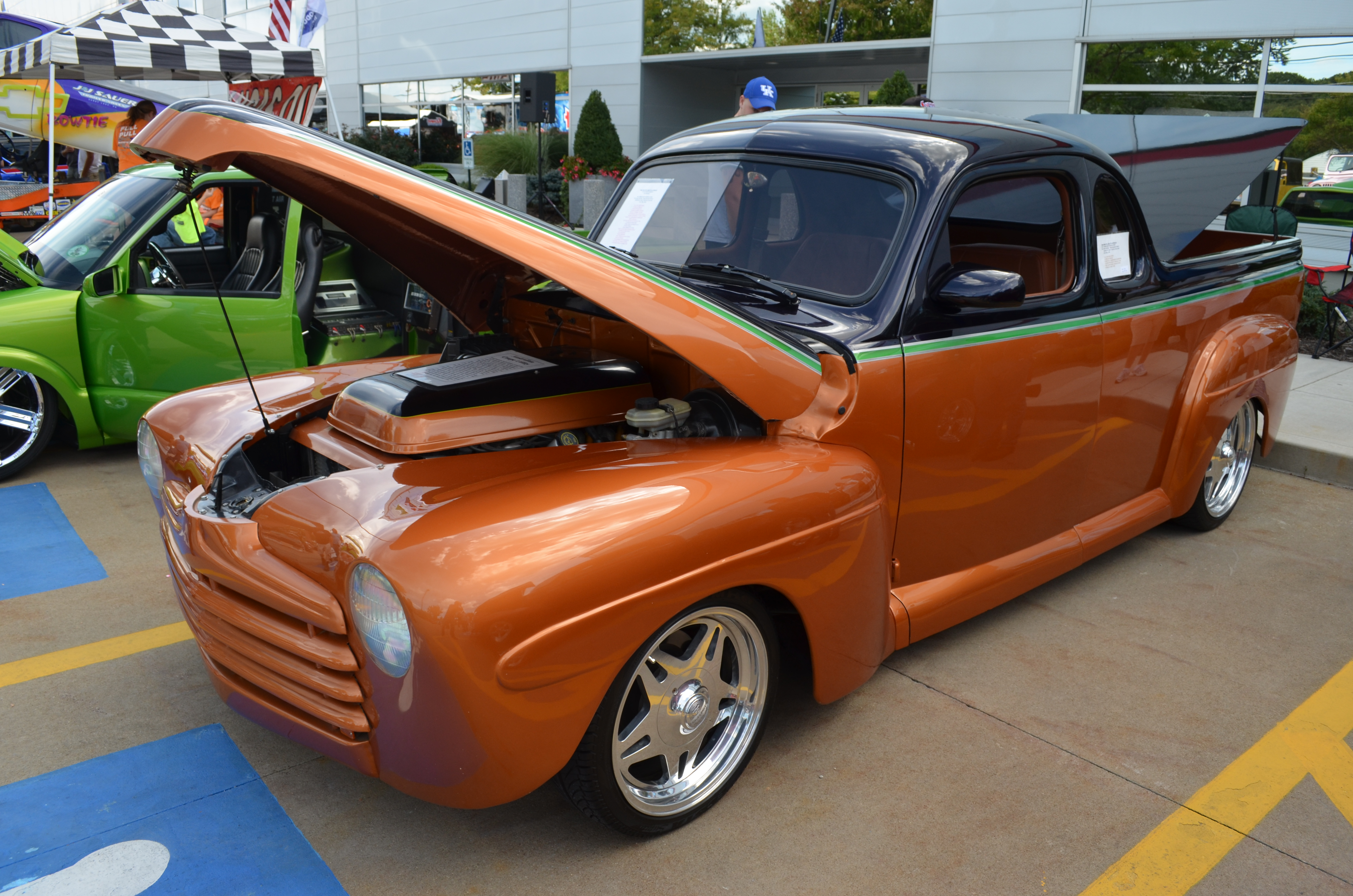 1946 Ford Utility Coupe hot rod